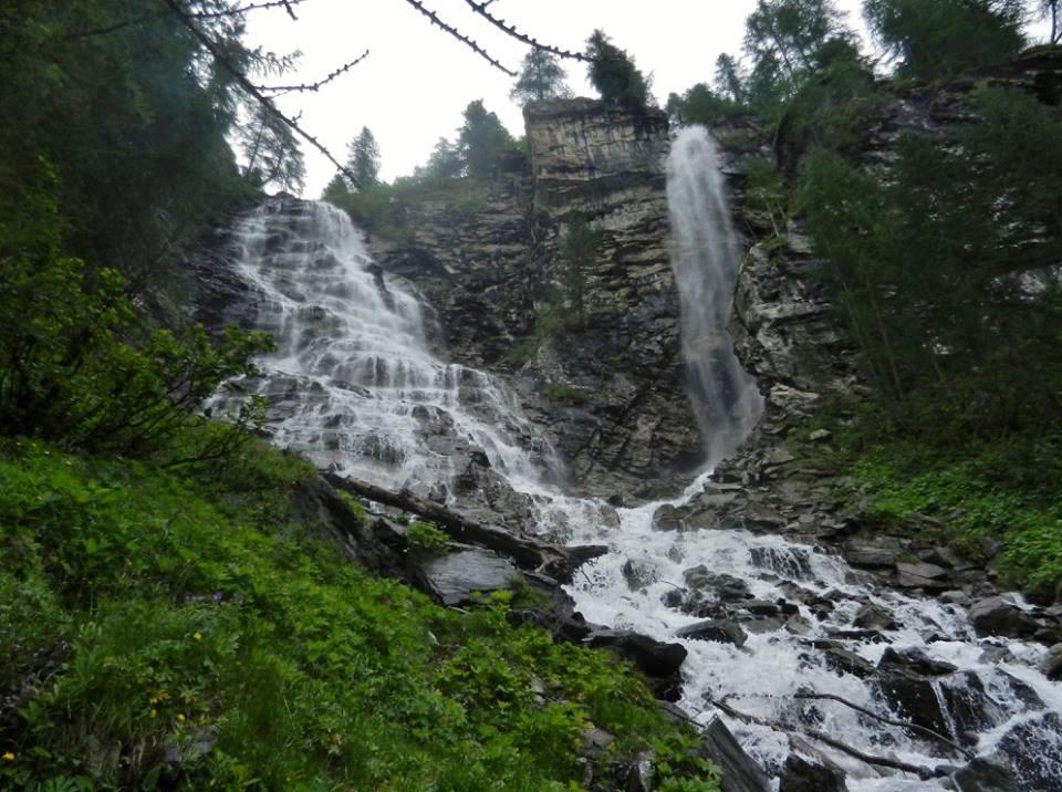 Cascate torrente Entrelor