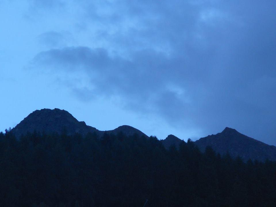 Monte Suchello dal parcheggio